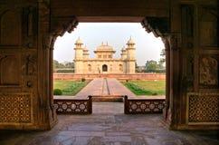 Itimad-ud-daulah al tramonto, Agra, Uttar Pradesh, I Fotografie Stock Libere da Diritti