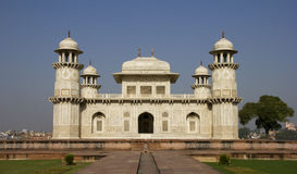 Itimad-ud-Daulah of Baby Taj in Agra, India Royalty-vrije Stock Afbeelding