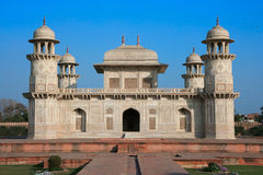 Itimad-ud-Daulah или младенец Taj в Agra, Индии Стоковые Изображения RF