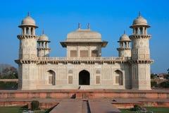 Itimad-ud-Daulah或婴孩Taj在阿格拉,印度 免版税库存图片