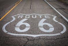 Itinéraire 66 photo libre de droits