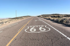 Itinéraire 66 Photo stock