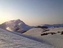 Itinéraire alpin de Tateyama Kurobe (Alpes du Japon), Toyama, Japon images libres de droits
