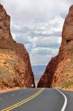 Itinéraire 89, Arizona (Etats-Unis) Images libres de droits