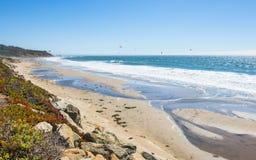 Itinéraire 1 d'état de la Californie photos libres de droits