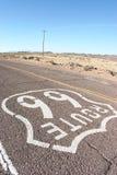 Itinéraire 66 des Etats-Unis Photos stock