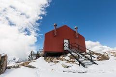 Itinéraire Nouvelle-Zélande de hutte de Mueller Photo libre de droits