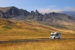 Itinéraire numéro un en Islande photographie stock libre de droits