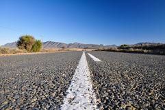 Itinéraire 62 près d'Oudtshoorn - l'Afrique du Sud Photos libres de droits