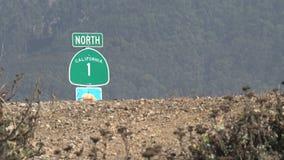 Itinéraire 1 Westcoast, la Californie, Etats-Unis de la Californie banque de vidéos