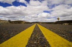 Itinerari di Patagonia immagini stock
