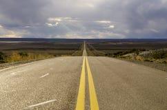 Itinerari di Patagonia, Argentina immagini stock libere da diritti
