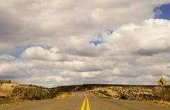 Itinerari di Patagonia, Santa Cruz fotografia stock libera da diritti