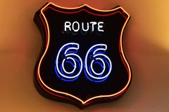 Itinerario 66 fotografie stock