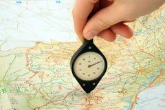 Itinerario Fotografie Stock