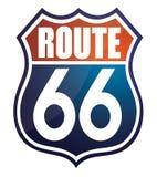 Itinerario 66 immagini stock