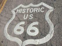 Itinerario 66 Immagine Stock Libera da Diritti