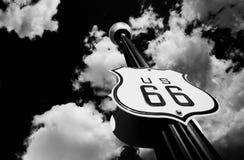 Itinerario 66 Fotografia Stock