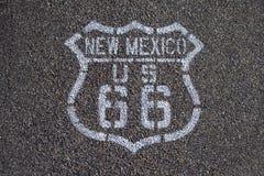 Itinerario 66. Fotografie Stock