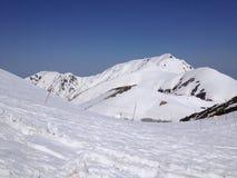 Itinerario alpino di Tateyama Kurobe, alpi del Giappone Fotografie Stock