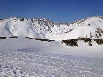 Itinerario alpino di Tateyama Kurobe (alpi) del Giappone, Toyama Giappone Immagine Stock Libera da Diritti