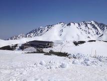 Itinerario alpino di Tateyama Kurobe (alpi) del Giappone, Toyama, Giappone Immagine Stock Libera da Diritti