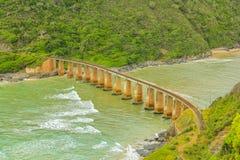 Itinerario del giardino del ponte di Kaaimans Fotografie Stock
