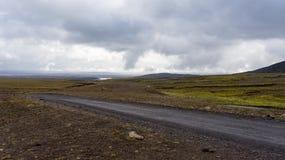 Itinerario dell'altopiano di Kjölur Fotografia Stock Libera da Diritti