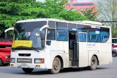 Itinerario di bus 2 del bus della città di Chiangmai Immagini Stock Libere da Diritti