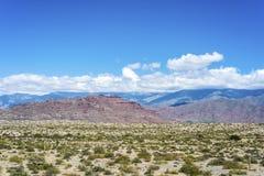 Itinerario famoso 40 in Salta, Argentina. immagini stock