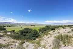 Itinerario famoso 40 in Salta, Argentina. immagini stock libere da diritti