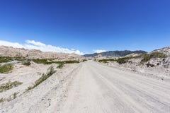 Itinerario famoso 40 in Salta, Argentina immagini stock
