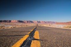 Itinerario infinito Fotografia Stock Libera da Diritti