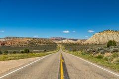 Itinerario scenico 12 dell'Utah Immagini Stock