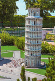 Itália na miniatura Fotografia de Stock Royalty Free