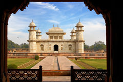Itmad-ud-Daula's Tomb is a Mughal mausoleum. Agra Stock Photography