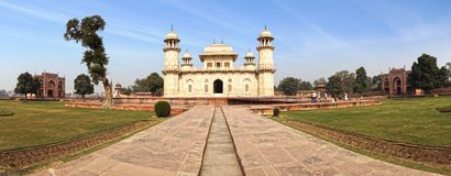 Itmad-ud-Daula's Tomb is a Mughal mausoleum. Royalty Free Stock Photos