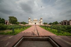 Itmad-ud-Daula, también conocido como el bebé Taj Fotos de archivo