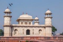 Itmad-Ud-Daulah ` s grobowiec - Agra, India Zdjęcie Stock