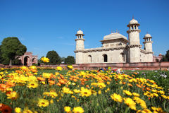 Itmad-Ud-Daulah's tomb in Agra Royalty Free Stock Photography
