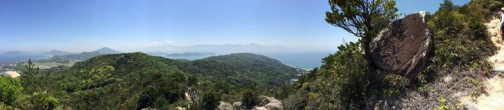 Itoshima风景全景  库存图片