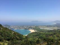 Itoshima风景全景  库存照片