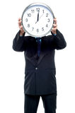 Its 00 hours. Start of a new positive day. Stock Photography