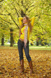 Its Autumn! 2 stock photography