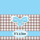 It's a boy Stock Image