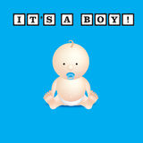 Its a boy Stock Photography