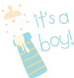 Its A Boy Stock Images