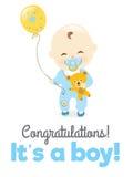 It's a boy! Royalty Free Stock Image