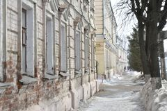 Its Central part from Molochnaya mountain to Pyatnitskaya street was formed in the XIII century. Construction of the present street began, presumably, in the Royalty Free Stock Image
