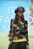 Its A Fashion Sprint Fashion Model Catwalk Royalty Free Stock Photos